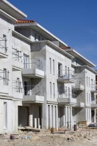 Immeubles et logements en construction
